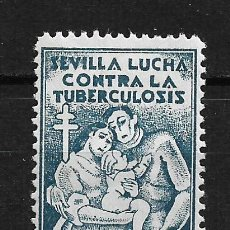 Sellos: VIÑETAS TUBERCULOSIS SEVILLA * - 14/22. Lote 183489430