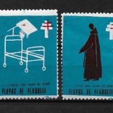Sellos: VIÑETAS TUBERCULOSIS VENDRELL 1967 * - 14/22. Lote 183489581