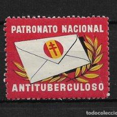 Sellos: VIÑETAS TUBERCULOSIS PATRONATO NACIONAL APORTACION 5 PTAS. ** - 14/27. Lote 183539421