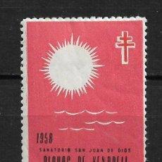 Sellos: VIÑETAS TUBERCULOSIS 1958 VENDRELL ** - 14/26. Lote 183540517