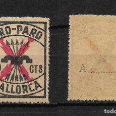 Sellos: GUERRA CIVIL PRO PARO MALLORCA 50 CTS **. - 14/28. Lote 184148403