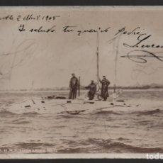 Sellos: INGLATERRA A BILBAO--H.M.S. SUBMARINE --,CIRCULADA, VER FOTO . Lote 184426250