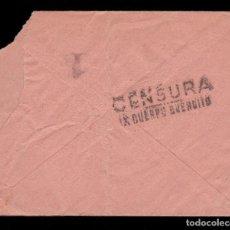 Sellos: *** CARTA ANDÚJAR-MADRID 1938. CENSURA MILITAR REPUBLICANA, X CUERPO EJÉRCITO. MUY RARA ***. Lote 184644987