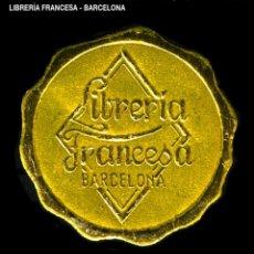 Sellos: VIÑETA / ETIQUETA - LIBRERÍA FRANCESA - BARCELONA - REF808. Lote 184764476