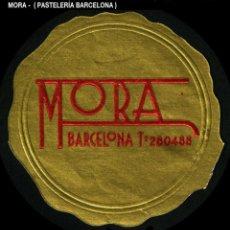 Sellos: VIÑETA / ETIQUETA - MORA - BARCELONA - REF809. Lote 184764855