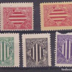 Sellos: TT7- VIÑETAS VISCA CATALUNYA X 5 COLORES SIN GOMA. Lote 185924452