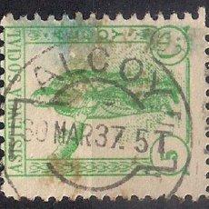 Sellos: ESPAÑA GUERRA CIVIL ASISTENCIA SOCIAL ALCOY - 17/6. Lote 185947308