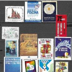 Sellos: LOTE DE 20 VIÑETAS NUEVAS, FOTO ORIGINAL. Lote 185990908