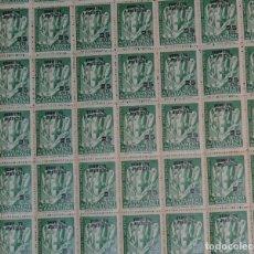 Sellos: HOJA CON 100 SELLOS DE BARCELONA. Lote 187650488