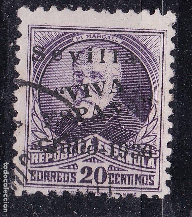 KK6-GUERRA CIVIL LOCALES PATRIÓTICOS SEVILLA EDIFIL 23HCC (Sellos - España - Guerra Civil - Viñetas - Nuevos)