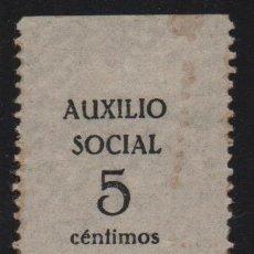 Timbres: GIBRALEON.- HUELVA, 5 CTS, AUXILIO SOCIAL- VER FOTO. Lote 188626243
