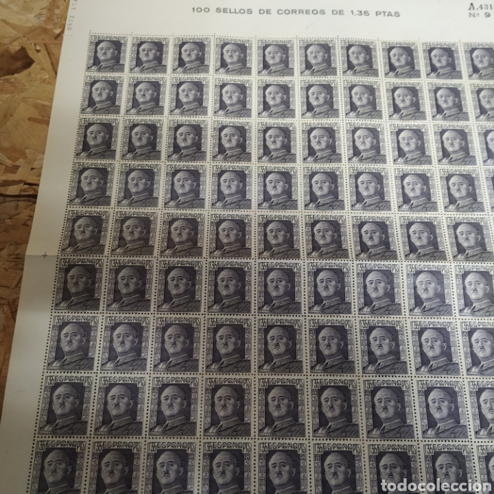 100 SELLOS DE 1,35 AÑOS 40 (Sellos - España - Guerra Civil - De 1.936 a 1.939 - Nuevos)