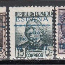 Sellos: EMISIONES LOCALES, PAMPLONA, 1937 EDIFIL Nº 21, 23, 24, /*/ . Lote 190555688