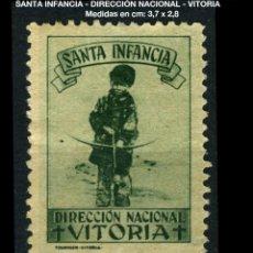 Sellos: VIÑETA - SANTA INFANCIA - DIRECCIÓN NACIONAL - VITORIA - REF859. Lote 190586403