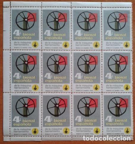 Sellos: 1966 4ª BIENAL ESPAÑOLA - 12 VIÑETAS - Foto 2 - 190798801