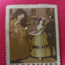 Sellos: VIÑETA EXPOSICION INTERNACIONAL BARCELONA 1929 - EL ARTE EN ESPAÑA - NUEVO**. Lote 191120025