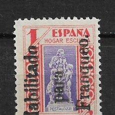 Sellos: ESPAÑA - GUERRA CIVIL - BENEFICENCIA EDIFIL NE 13 * - 15/22. Lote 191209691
