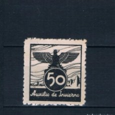 Sellos: GUERRA CIVIL. FALANGE AUXILIO INVERNO 50 CTS ** LOT010. Lote 191341101