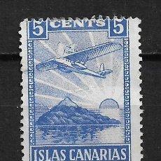 Sellos: ESPAÑA - GUERRA CIVIL - ISLAS CANARIAS * - 15/24. Lote 191923676