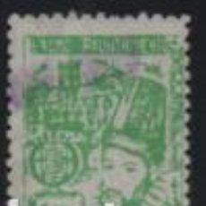 Francobolli: VALLADOLID, 1 PTA, SELLO MUNICIPAL, VER FOTO. Lote 192177631