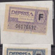 Selos: LL14-PARAFISCALES . ETIQUETAS RECADERO DEPRISA 2 COLORES . Lote 192477917