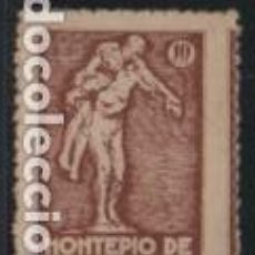 Sellos: VIÑETA, 1O CTS.-MONTEPIO DE TELEFONOS, VER FOTO. Lote 192617606