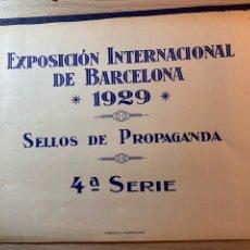 Sellos: CARPETA ORIGINAL 500 VIÑETAS EXPOSICION INTERNACIONAL DE BARCELONA 1929. 5 SERIE. Lote 192653443