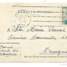 Sellos: TARJETA POSTAL REINTEGRADA - 24-7-53. Lote 192896008