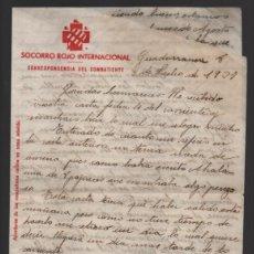 Sellos: S.R.I. GUADARRAMA, JULIO 1937, VER Y LEER TEXTO, . Lote 192968452