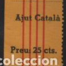 Sellos: AJUT CATALA, PREU 25 CTS, VER FOTO. Lote 192968661