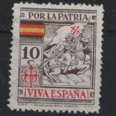 Sellos: TV_001/ ESPAÑA SELLOS NUEVOS EMITIDOS DURANTE LA GUERRA CIVIL. Lote 193364813