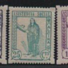 Sellos: ALCIRAS, 10-15-25- CTS, 1 Y 2 PTAS, NUEVOS, VER FOTO. Lote 193792928