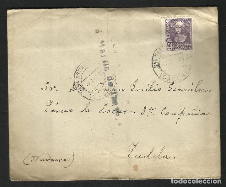GUERRA CIVIL. BANDO NACIONAL. CARTA S. MARTÍN DE TREVEJO (CÁCERES) 07-09-1939. CENSURA INÉDITA (Sellos - España - Guerra Civil - De 1.936 a 1.939 - Cartas)
