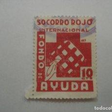 Sellos: SOCORRO ROJO INTERNACIONAL 10 CENTIMOS. Lote 194332742