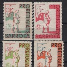 Sellos: TV_001/ VIÑETAS Nº 1/4 PRO REFUGIATS SARROCA. Lote 194361770
