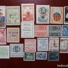 Sellos: GRAN LOTE VIÑETAS - CATALUÑA - NUEVOS -,. Lote 194506077