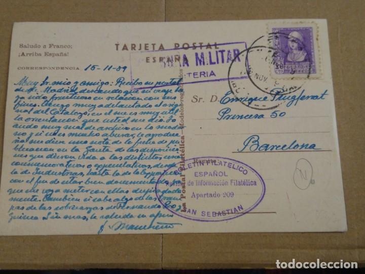 Sellos: Toledo, la postal filatélica. Modelos registrados Serie A Censura militar. - Foto 2 - 194509092