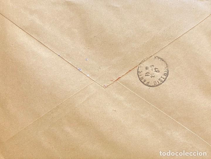 Sellos: ESPAÑA CARTA CIRCULADA EN 1937 - Foto 2 - 194560907