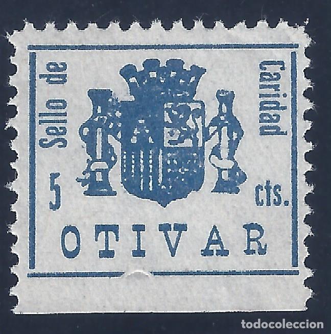OTIVAR (GRANADA). GÁLVEZ 539. MNG. (Sellos - España - Guerra Civil - Locales - Nuevos)