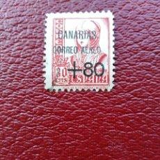 Sellos: SELLO NACIONAL HABILITADO CORREO AÉREO CANARIAS ESPAÑA . Lote 194675690