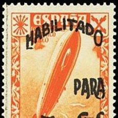 Sellos: [CF2732] ESPAÑA 1940, BENEFICIENCIA. HISTORIA POSTAL 5C SOBRE 2PTS (MNH). Lote 194908330