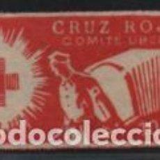 Sellos: UBEDA--JAEN-- 10 CTS,- CRUZ ROJA, VER FOTO. Lote 194925435