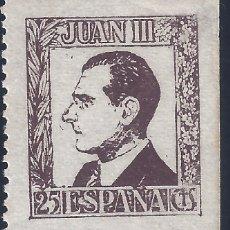 Sellos: JUAN III. DON JUAN DE BORBÓN. MNH **. Lote 194965908