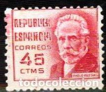 ESPAÑA 1937 - EDIFIL 0737 (**) (Sellos - España - Guerra Civil - De 1.936 a 1.939 - Nuevos)