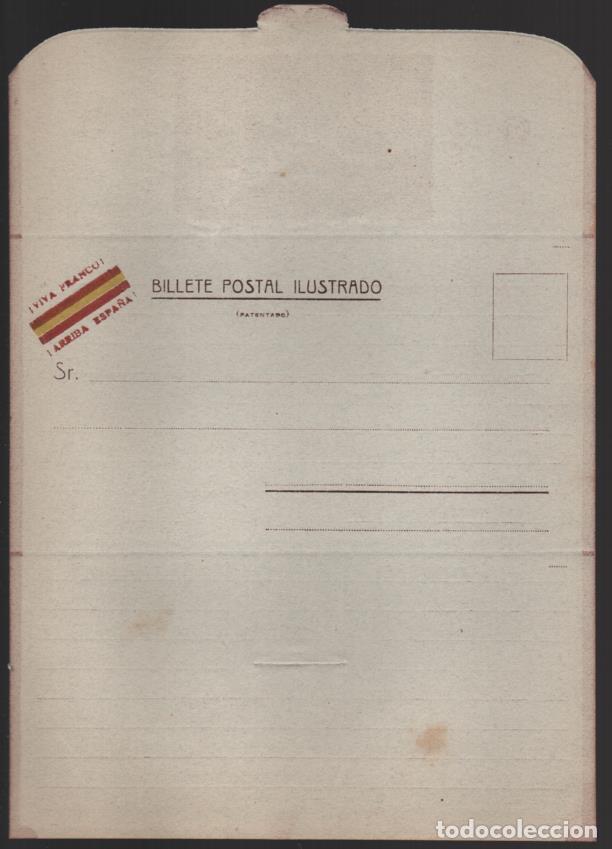 ZUIZA- COLECCION PATRIOTICA. DIVISION AZUL,? BILLETE POSTAL ILUSTRADOS, I.--4 SOBRECARTA DISTINTAS. (Sellos - España - Guerra Civil - De 1.936 a 1.939 - Nuevos)