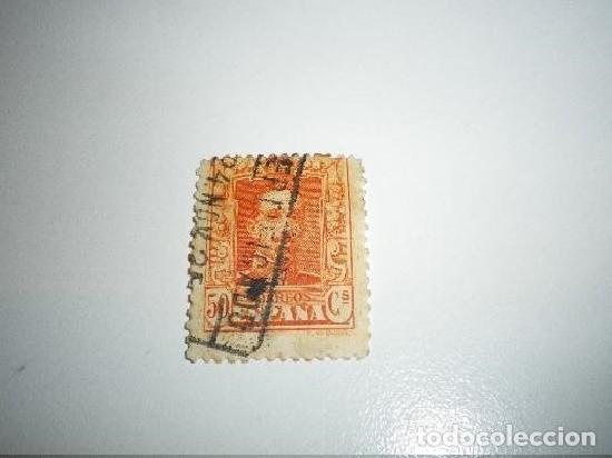 SELLO DE ALFONSO XIII DE 50 CÉNTIMOS (Sellos - España - Guerra Civil - De 1.936 a 1.939 - Usados)