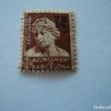 Sellos: AJUNTAMENT DE BARCELONA IMPOSTOS INDIRECTES PERFUMERIA. Lote 195203968