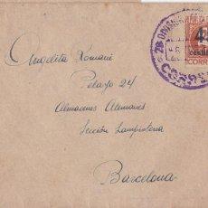 Sellos: F8-5- GUERRA CIVIL . CARTA DEL FRENTE TERUEL 28 DIVISIÓN . 126 BRIGADA MIXTA 1938. Lote 195268115