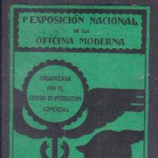 Sellos: AA12- VIÑETA EXPO NACIONAL OFICINA MODERNA MADRID 1936 . 55 X 32 MM . Lote 195281498