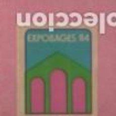 Sellos: VIÑETA VINYETA DE L, EXPOBAGES DE MANRESA 1984. Lote 195283282